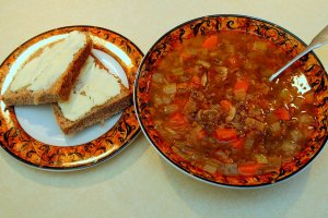 Deborah Madison's Hearty Lentil Soup
